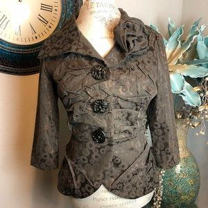 An Ren wearable Art blazer Size XS